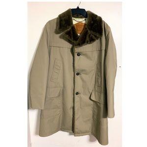 Woolrich Men's Trench Coat Jacket